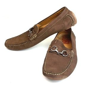1901: driving shoe leather slip on moccasins  13